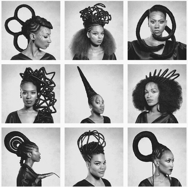 Though we have many articles devoted toAfrican threading, we have not yet broached the topicof where to get the style done …. until now! 1. Anana Scott – Oakland, CA Anana Scottcame …