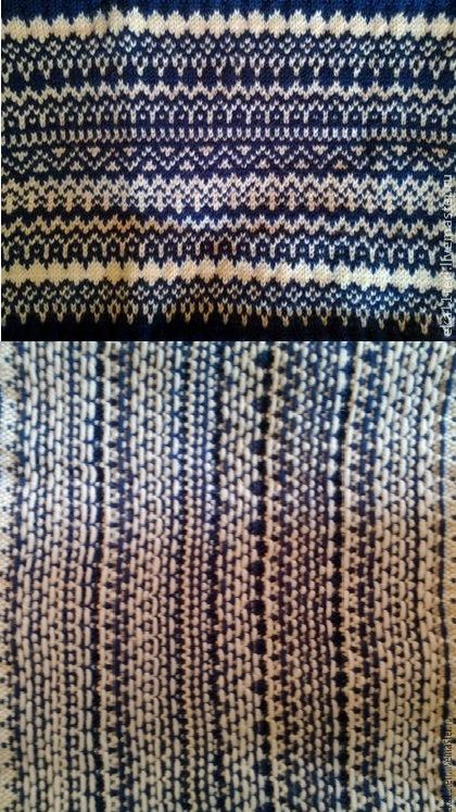 Stylish fashion mini skirt, created with spokes in Jacquard technique. The bottom and top are decorated with a wide elastic band. Very warm. Yarn comprising 90% wool and 10% acrylic.