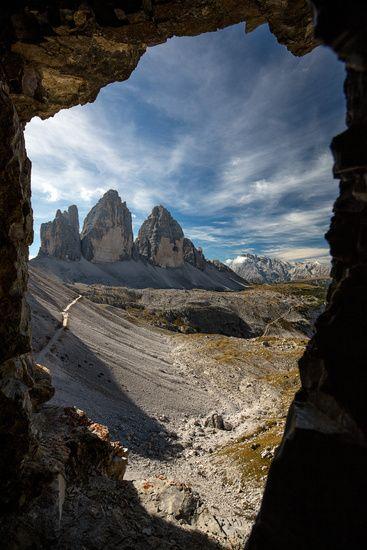 Drei Zinnen, Dolomiten, Italien