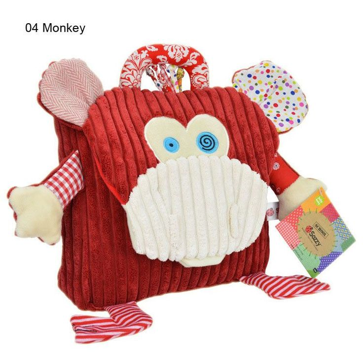 Adorable Cute Top-Quality Plush Animal Design Children's Backpack 4 Designs