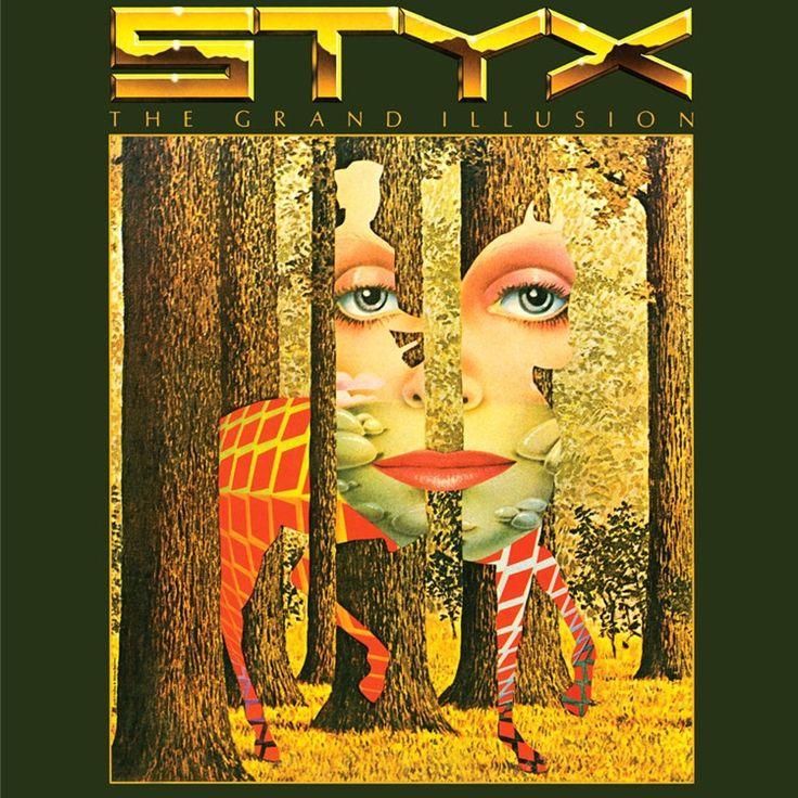 STYX The Grand Illusion 180g Vinyl LP Rock album