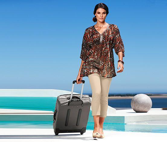 Miękka #walizka na kółkach #tchibo