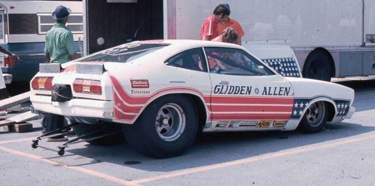 Bob Glidden's 1974 Mustang II pro stocker