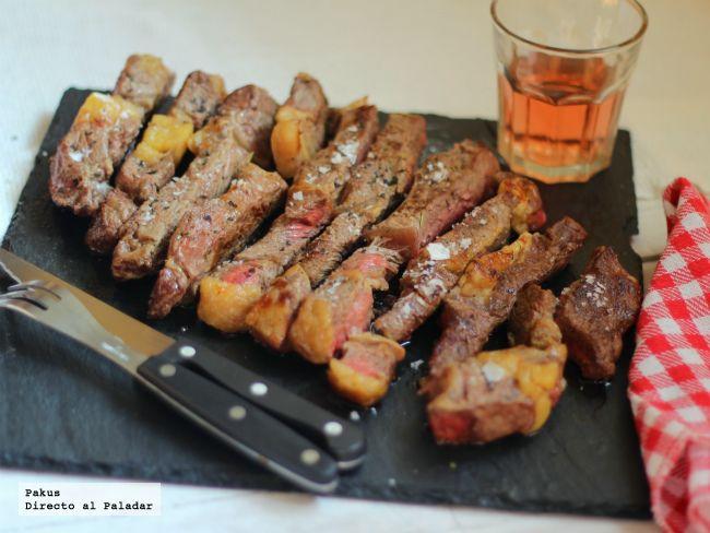 Existen muchas formas de cocinar la carne pero una de las más agradecidas es la carne asada a la piedra. En general este tipo de cocción es más ...