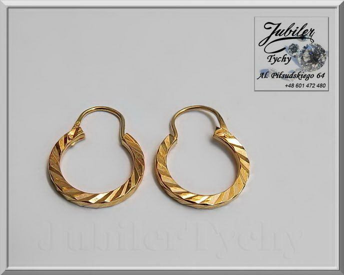 Złote kolczyki koła, małe kółeczka💎🎁💥 #Złote #Kolczyki #Koła #kółka #małe #kółeczka #Grawerowane #Jubiler #Tychy #Gold #Jeweller #Jubiler #Tychy #Jeweller #Tyski #Złotnik #Zaprasza #Promocje: ➡ jubilertychy.pl/promocje 💎