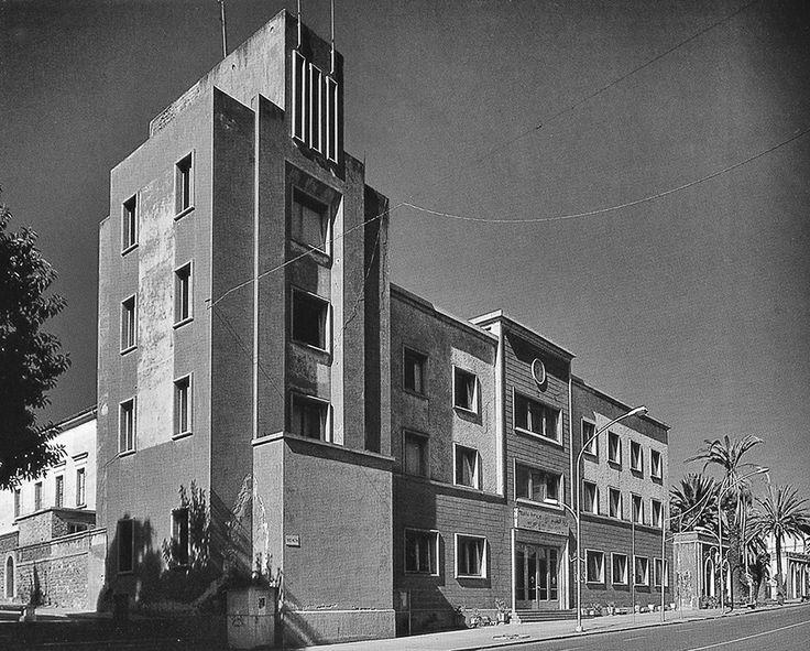 wmud:  bruno sclafani - casa del fascio, viale mussolini, asmara, 1928-1940