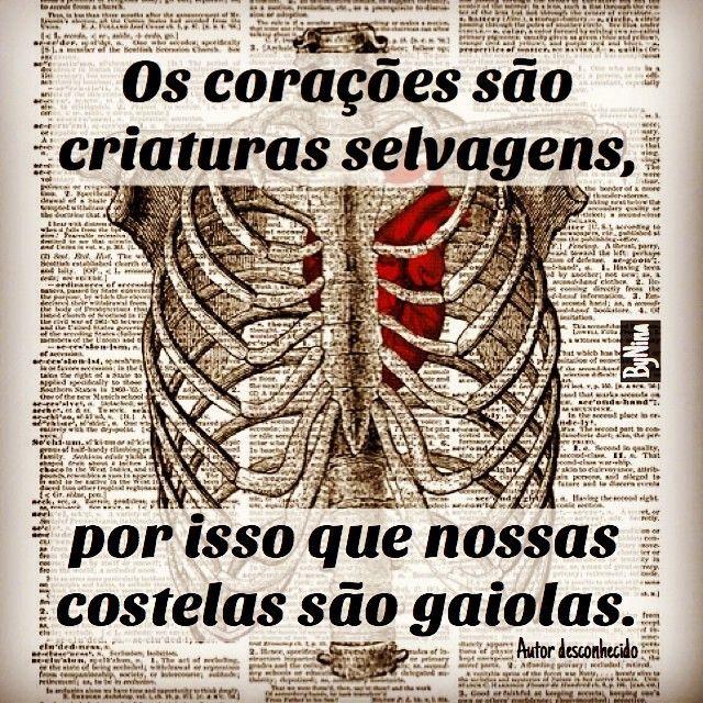 Corações presos na gaiola...