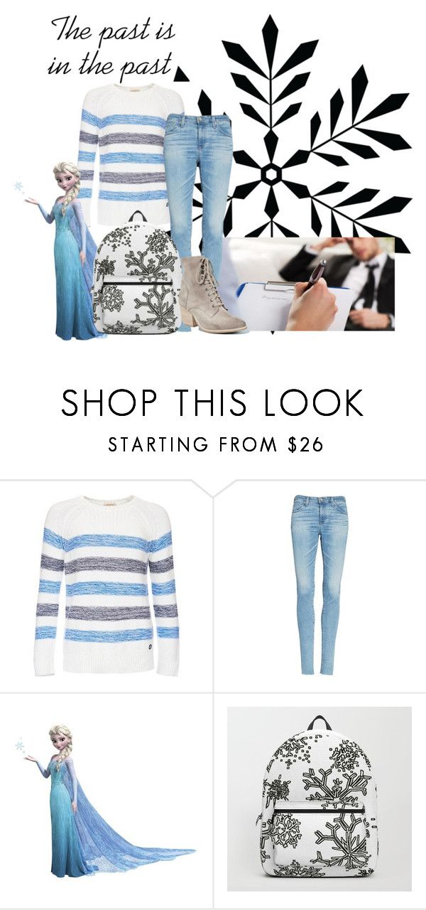 """Elsa-Round 1 Introductions"" by thespian-at-large ❤ liked on Polyvore featuring Barbour, AG Adriano Goldschmied, RoomMates Decor and Jeffrey Campbell"