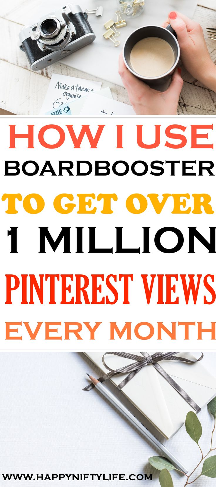 How to use BoardBooster and Pinterest for increasing blog traffic. Actionable Pinterest strategies to help boost your blog pageviews.