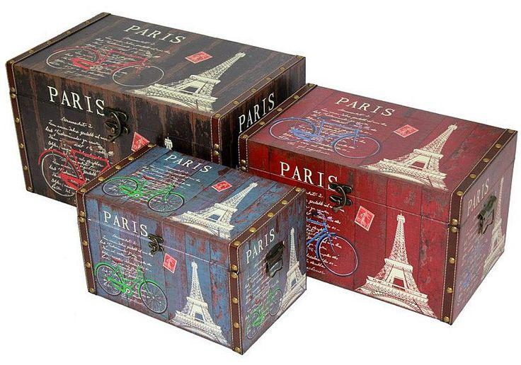 Sada kufrů Paris
