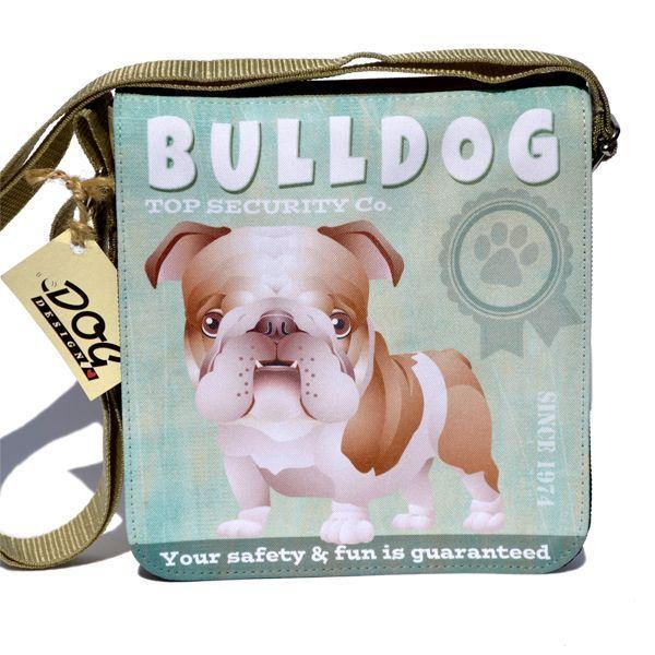 Angol bulldog táska