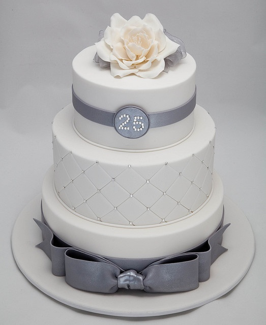 25th Wedding Anniversary by Rouvelee's Creations'