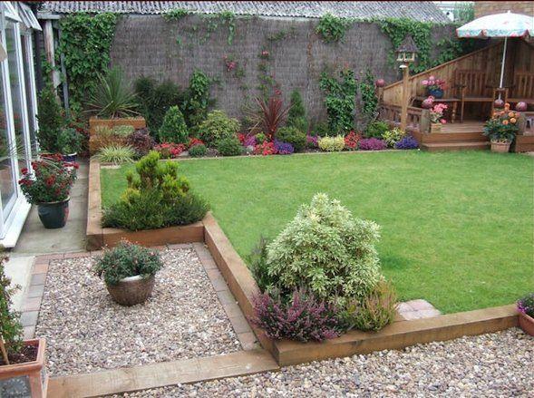 garden design landscaping ideas garden edging sleepers backyard decor ideas
