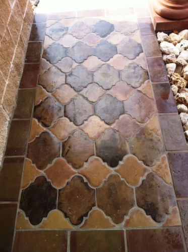 21 best images about saltillo tile patios and verandas on for Spanish clay tile