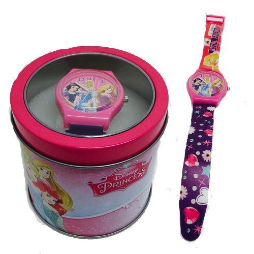 Disney Princess Gift set watch in tin girls presents princess toys