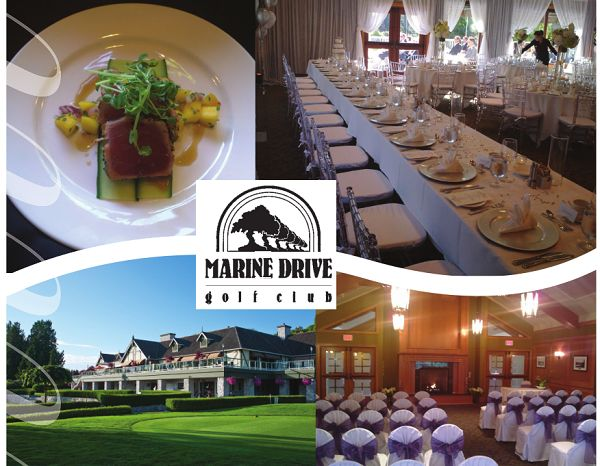 **Marine Drive Golf Club** - Vancouver Wedding Venue