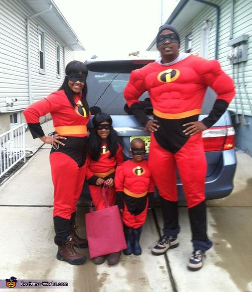 The Incredibles Family Costume The O Jays Halloween And