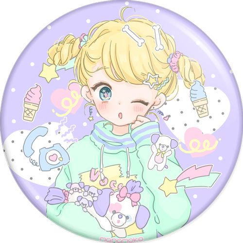 Manamoko - Badges - Vocaloid - PHOOEY SHOP