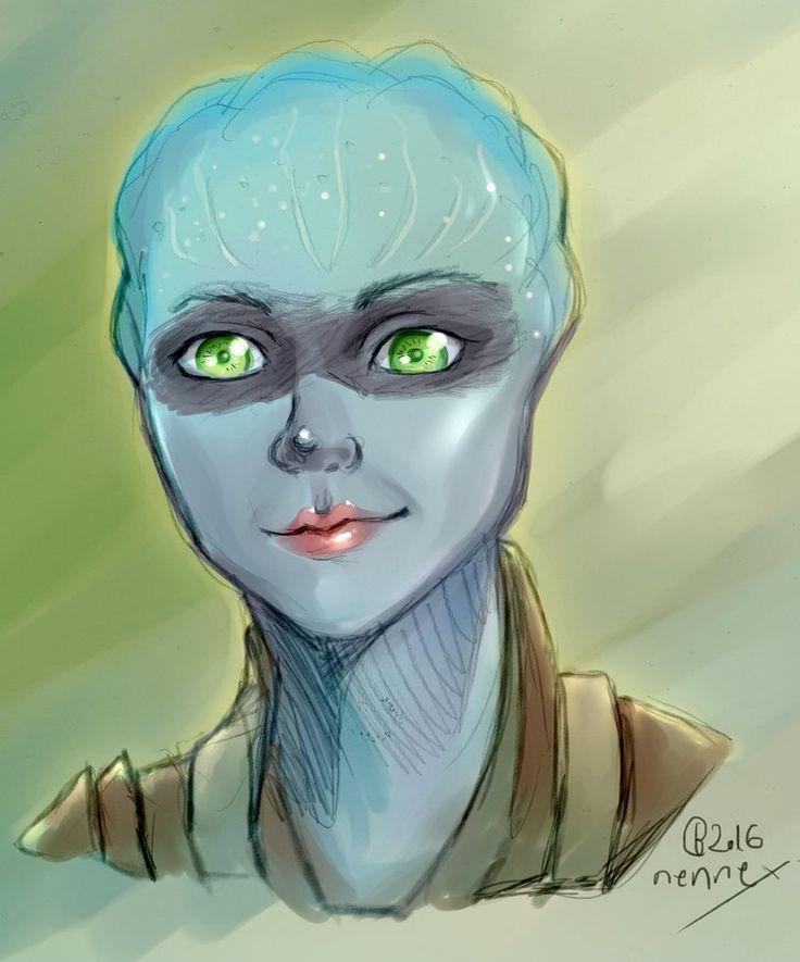 {ME:Andromeda} Asari by nennex.deviantart.com on @DeviantArt