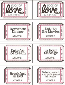 17 best ideas about love coupons on pinterest creative for Coupon book template for boyfriend