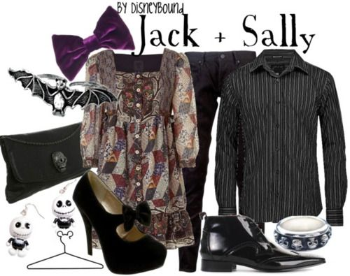 The Nightmare Before Christmas- aww!! There's an outfit for me and my husband!! Lol!