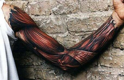 Some really awesome looking 3D tattoos out there.