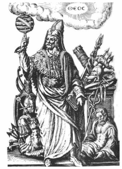 Por hacerme creer... Hermes Trismegisto. Sabio Egipcio de la antigüedad. No se sabe si fue real o un mito, solo han trascendido sus enseñanzas. Enseñanzas que con una lectura moderna conociendo los hallazgos mas importantes actuales en fisica de particulas y astrofisica, se puede ver claramente como Hermes no se alejaba mucho de lo que se dice en la actualidad.