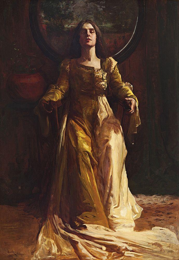 Sydney Long - Isabella - 1904