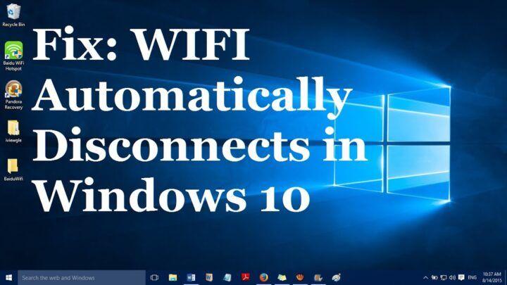 حل مشكلة انقطاع الواي فاي على اجهزة اللابتوب بويندوز 1087 Windows 10 Wifi Wifi Network