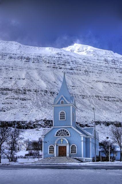 #Seyoisfjorour #Iceland #Islandia #winter