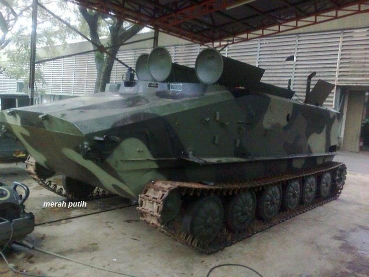 Prototype Amphibious - PT PINDAD