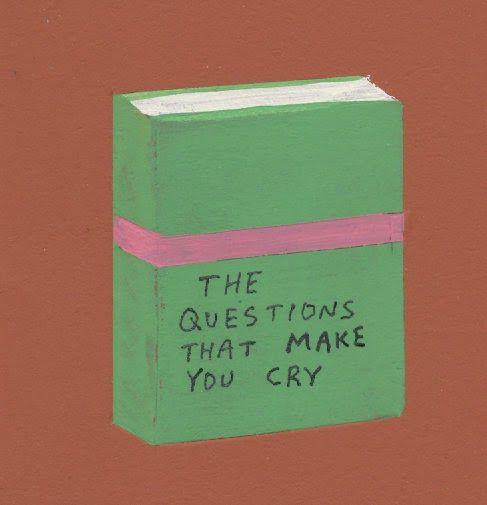 As questões que é faz chorar