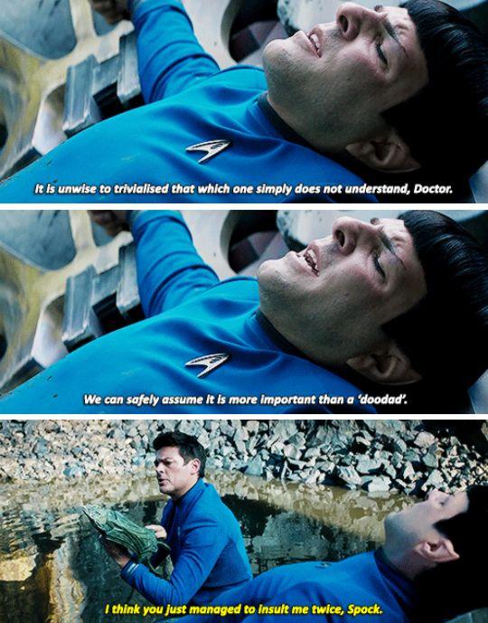 Star Trek Beyond   Spock & Bones