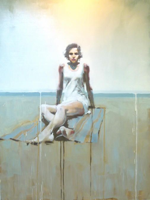Michael Carson | Girl on Beach