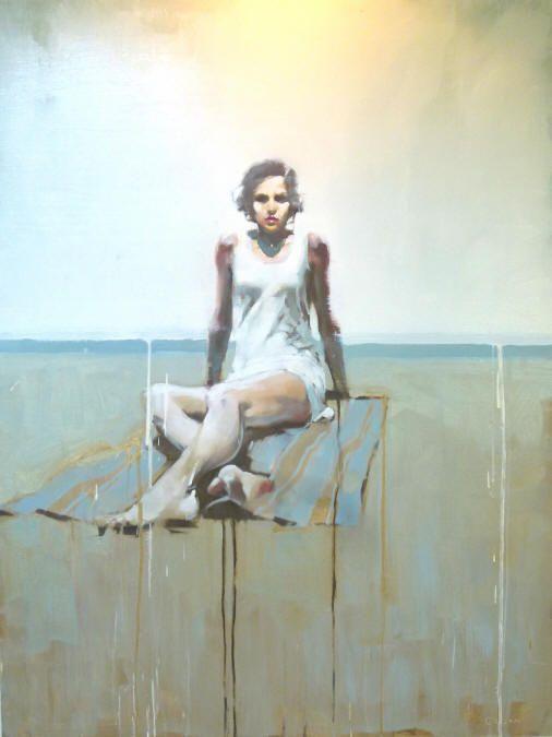 Michael Carson | Girl on Beach