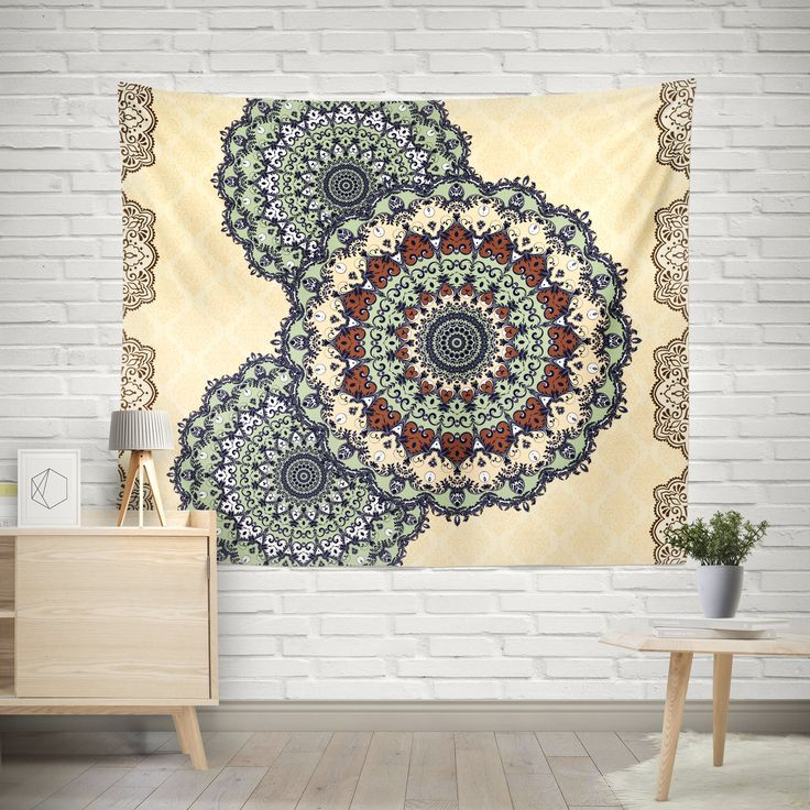 Excited to share the latest addition to my #etsy shop: Mandala Tapestry, Bohemian Tapestry, Indie Vintage Mandala Decor, hippie tapestries, Ethno Mandala Wall Tapestries, Chabby Chic Interior http://etsy.me/2CeFTK4 #housewares #homedecor #beige #weavingtapestry #entryw