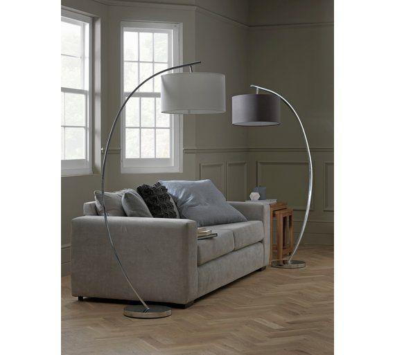Sensational Buy Heart Of House Clane Arch Floor Lamp Grey Floor Download Free Architecture Designs Jebrpmadebymaigaardcom
