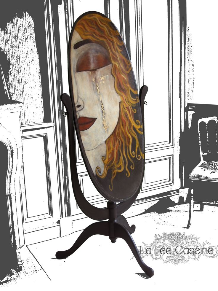 Sortie d'atelier : La psyché GUSTAV. Un petit air de Klimt pour l'arrière de…