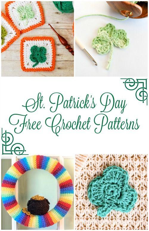 11 besten Crochet St. Patrick\'s Day Bilder auf Pinterest   Stickerei ...