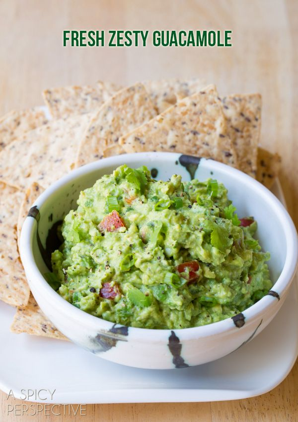 Simple Guacamole Recipe + Ideas for Add-ons  http://www.pinterest.com/spicyperspectiv/