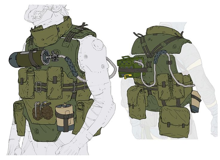 Vest Concept from Metal Gear Online