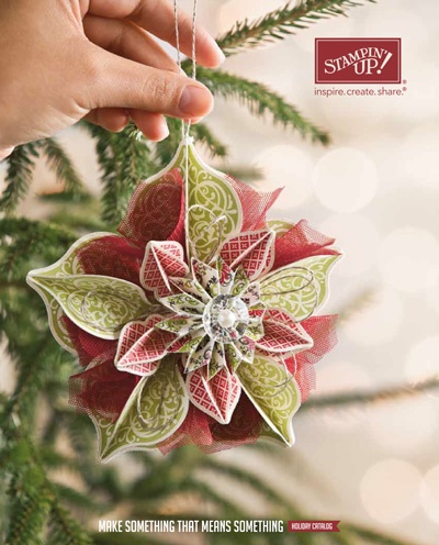 holidaymini #diy #crafts #wedding www.BlueRainbowDesign.com: Craft, Holiday Catalog, Idea, Stampin Up, Tutorial, Holidays, Card, Ornaments, Christmas Ornament