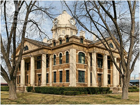 Mason County - Mason, TX.  Daddy born in this town.  1907