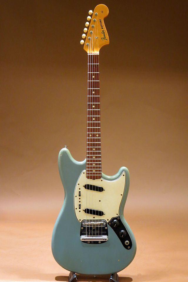 FENDER/USA[フェンダー/ユーエスエー] 1965 Mustang Daphne Blue|詳細写真