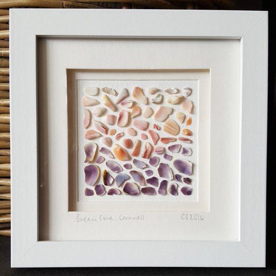 #seashellart #cornwall https://www.etsy.com/uk/listing/480321485/sea-shell-art-coastal-art-beach-art-gift