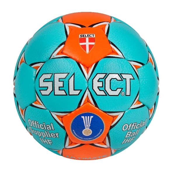 Select Ultimate Handball Spielball türkis im Handball Shop handballhaus.de