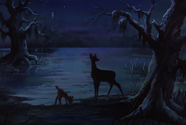 The Rescuers - Bambi and his mother :)