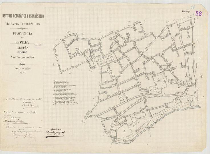 Écija (Sevilla) 1895. http://fernandobevia.com/el-plano-de-poblacion-de-ecija-1895/#comment-36