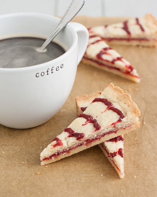 Cranberry Swirl Shortbread | Tracey's Culinary Adventures