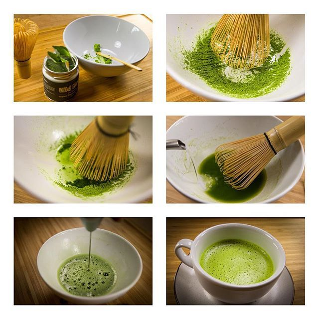 Check out the Wild Foods Guide To Matcha and learn how to make matcha the traditional way (above), the cold brew method (super easy), or in a smoothie! #wildmatcha #matcha #greentea #realingredients #realfood #wildfoods #thewildway #ingredients #primal #nutrition #tea